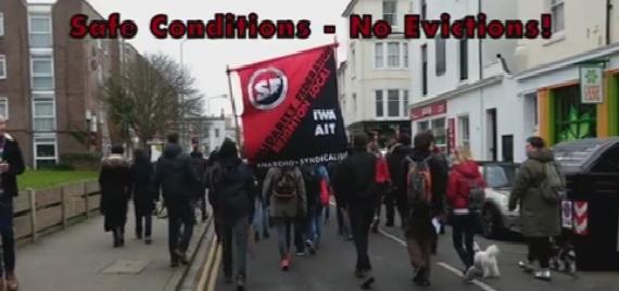 Анархо-синдикалисты Брайтона в борьбе за права квартиросъемщиков