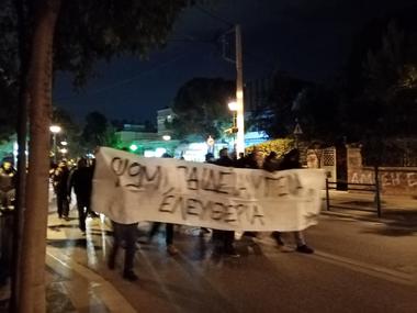 """Греция: Анархисты против """"карантинного"""" террора властей"""
