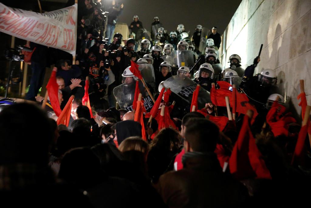 Битва у греческого парламента