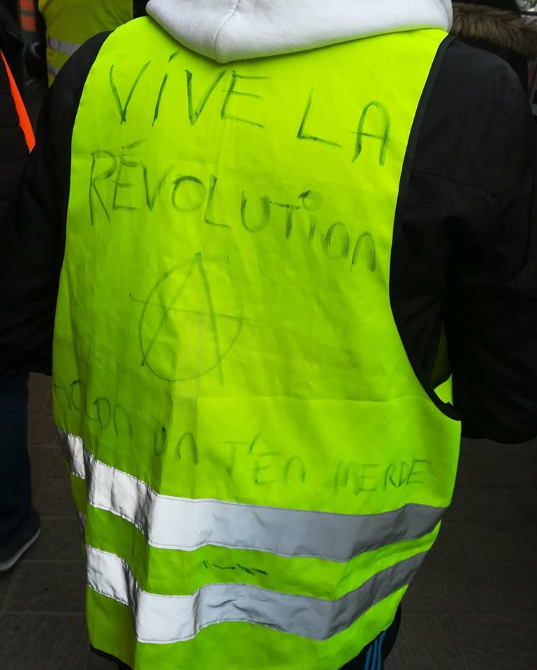 """Франция: День протеста """"желтых жилетов"""""""