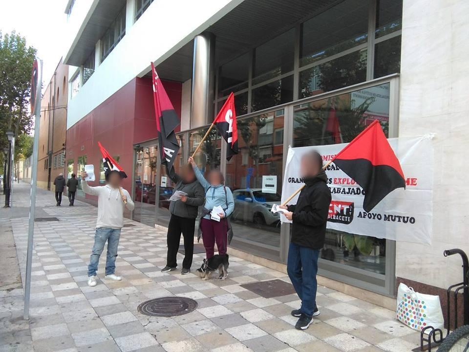 CNT-AIT добилась восстановления на работе профсоюзного делегата в Альбасете