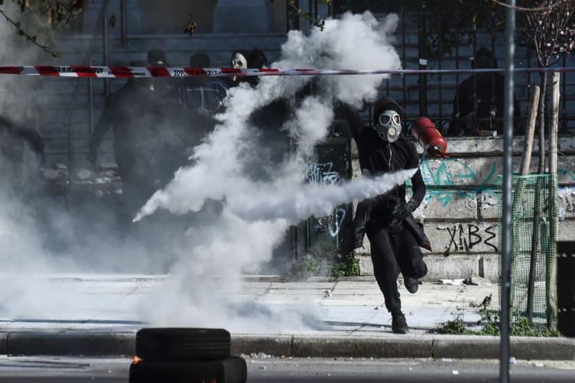 Салоники: Марш балканских анархистов против национализма