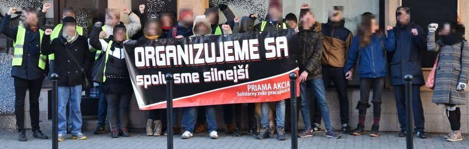 Словакия: Анархо-синдикалисты выиграли трудовой конфликт