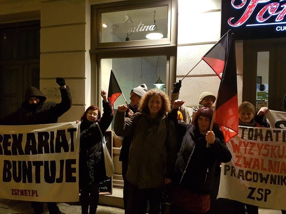 Польша: ZSP в борьбе за интересы трудящихся