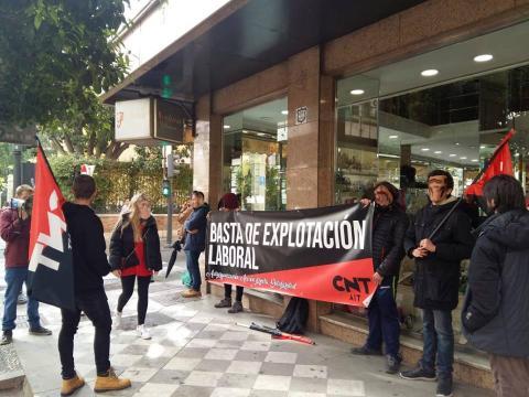 Испания: CNT-AIT в трудовых конфликтах