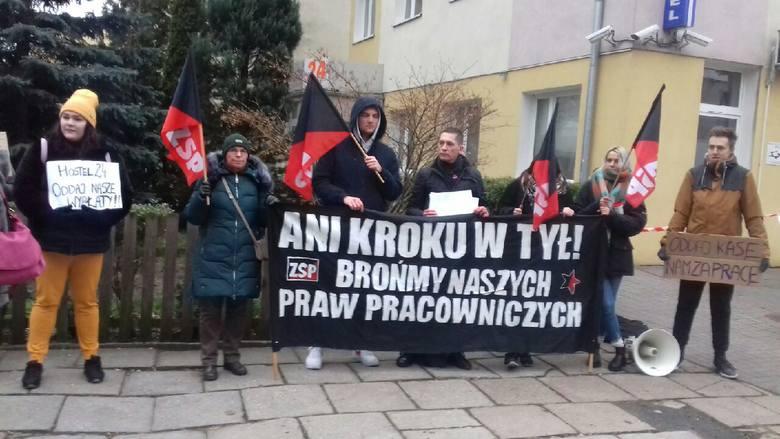Акции анархо-синдикалистов Польши