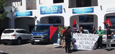 Акции анархо-синдикалистов в Андалусии и Леванте