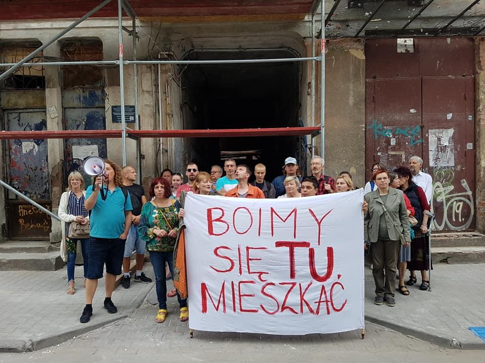 Новый протест жильцов в Варшаве
