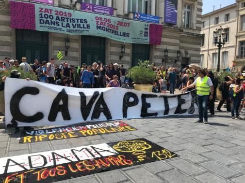 """36-й акт протеста """"Желтых жилетов"""": Против полицейского террора"""