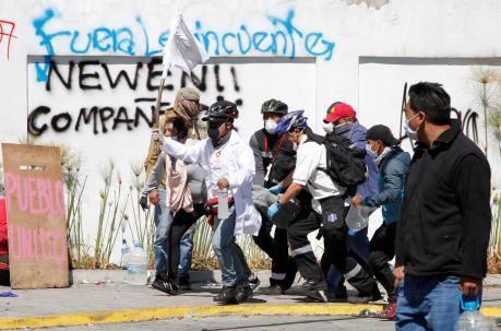 Эквадор: Месяц после восстания