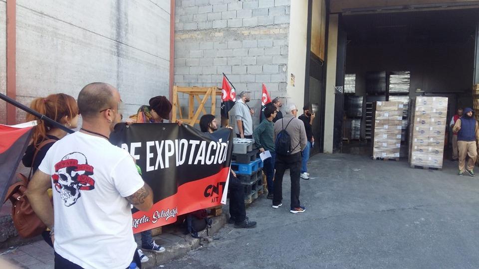 Новые акции CNT-AIT в Испании