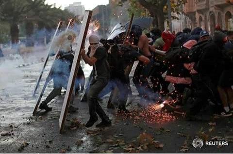 Чили: 20 день социального восстания