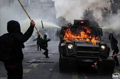 Социальный бунт в Чили: день 28 и 29