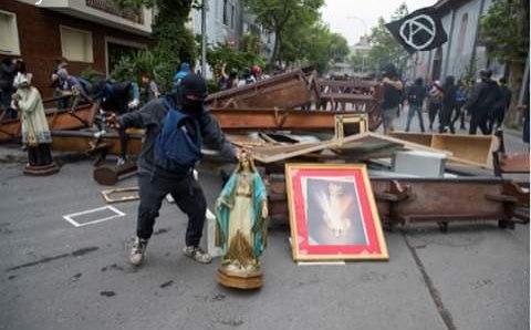 Чили, 8 ноября: 22-й день протестов
