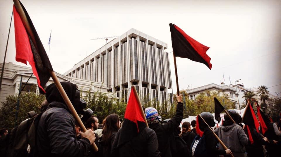 Греция: Протесты 17 ноября и полицейская агрессия в Экзархии
