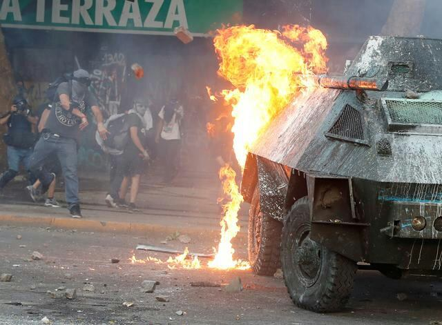 Чили бунтует по-прежнему
