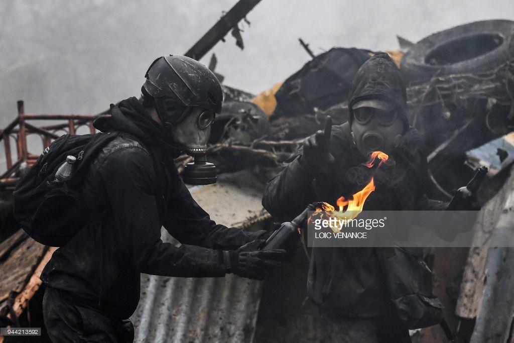 Франция: Баррикадные бои в Нотр-Дам-де-Ланд