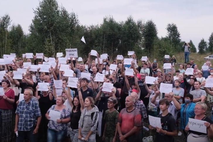 Экология: Противостояние в Черемзе продолжается!