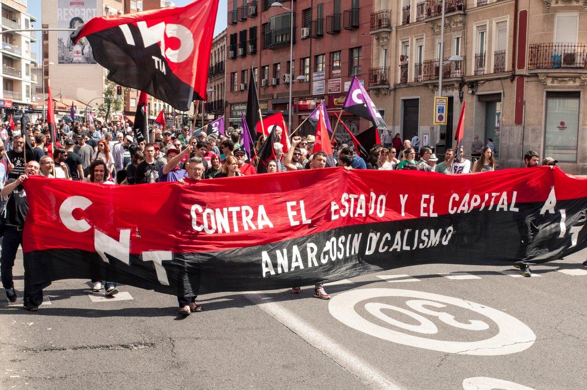 Анархо-синдикалистский Первомай 2019 в мире