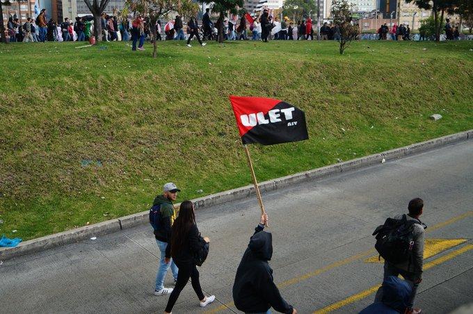 Анархо-синдикалисты приняли участие в протестах студентов и преподавателей в Колумбии