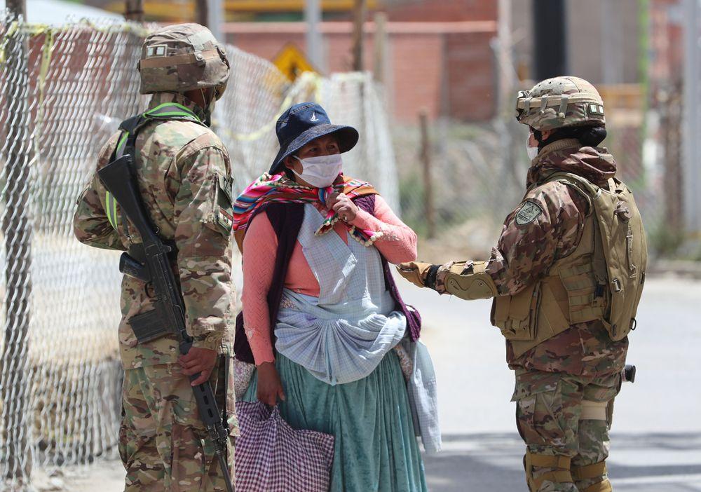 """""""Антикарантинные"""" протесты в Боливии"""