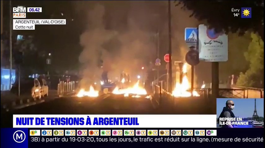 Парижские пригороды снова сражаются