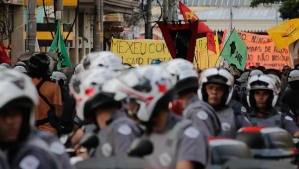 Сан-Паулу: 6-й марш транспортного протеста