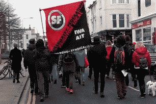 Деятельность британских анархо-синдикалистов в Брайтоне в январе - мае 2018 г.