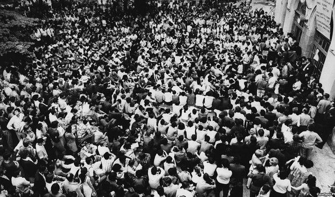 """""""Долой красную буржуазию!"""" Студенческие протесты 1968 г. в Югославии"""