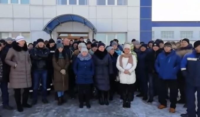 Забастовка лесопереработчиков в Хабаровском крае