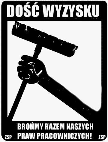"""Польша: ZSP поддерживает борьбу уборщиков в центре """"Дебак"""""""