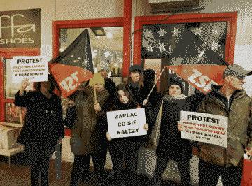 Анархо-синдикалисты Польши в трудовых конфликтах