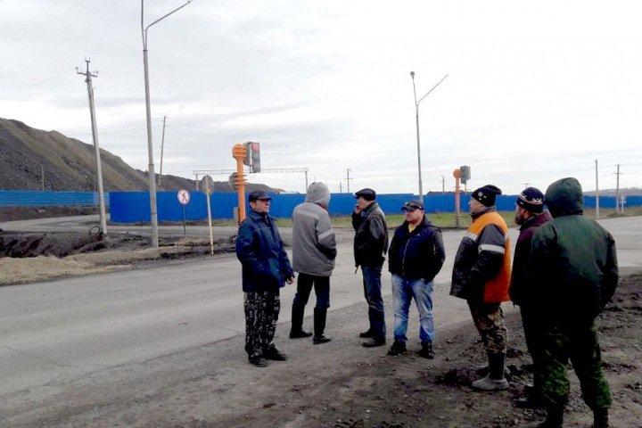 Экологический протест под Новокузнецком