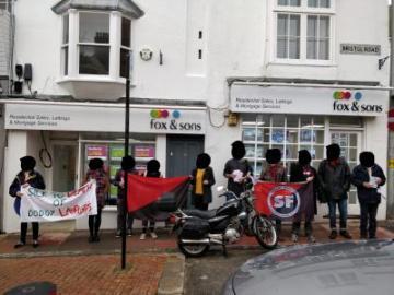 Акции брайтонских анархо-синдикалистов: ноябрь
